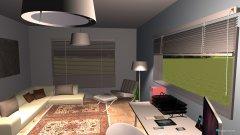 Raumgestaltung Gäste und Arbeitszimmer  in der Kategorie Arbeitszimmer