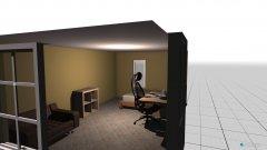 Raumgestaltung gäste in der Kategorie Arbeitszimmer