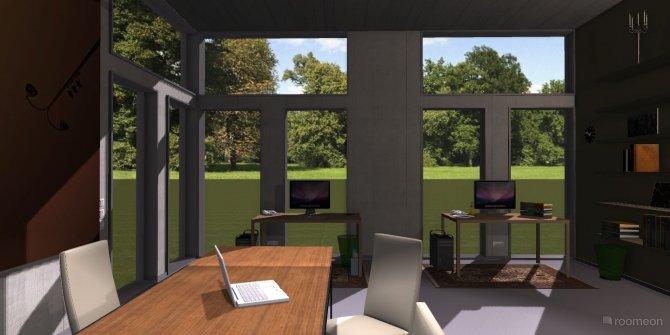 Raumgestaltung Galerie & Büroloft in der Kategorie Arbeitszimmer