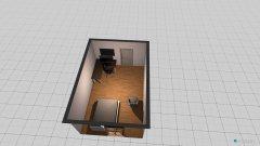 Raumgestaltung Gamer in der Kategorie Arbeitszimmer