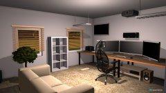 Raumgestaltung Gaming Room in der Kategorie Arbeitszimmer