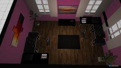 Raumgestaltung gaming zimmer 2 in der Kategorie Arbeitszimmer