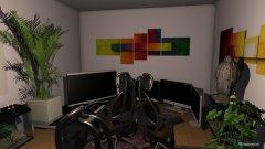 Raumgestaltung gaming zimmer turbenthal in der Kategorie Arbeitszimmer