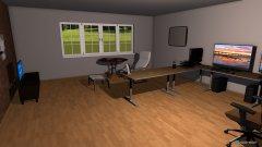 Raumgestaltung gAMINGROOM in der Kategorie Arbeitszimmer