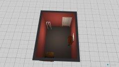 Raumgestaltung Gang nach Türe in der Kategorie Arbeitszimmer