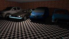 Raumgestaltung garaż in der Kategorie Arbeitszimmer