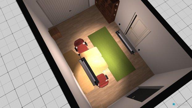Raumgestaltung Garage in der Kategorie Arbeitszimmer