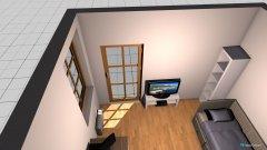 Raumgestaltung gartenhaus, klein in der Kategorie Arbeitszimmer