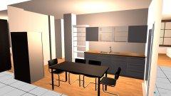 Raumgestaltung große Wohnunh WH in der Kategorie Arbeitszimmer