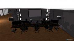 Raumgestaltung Großes Zimmer in der Kategorie Arbeitszimmer