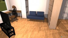 Raumgestaltung Grundriss 1.1 in der Kategorie Arbeitszimmer