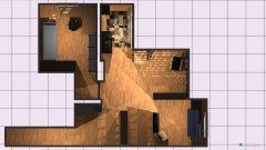 Raumgestaltung Grundriss 1.4 in der Kategorie Arbeitszimmer
