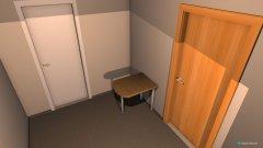 Raumgestaltung Grundriss 2 in der Kategorie Arbeitszimmer
