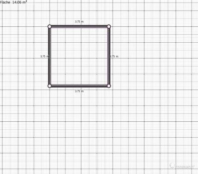 Raumgestaltung Grundriss in der Kategorie Arbeitszimmer
