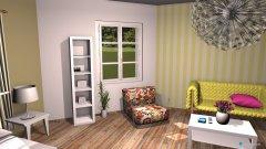 Raumgestaltung Grundrissvorlage Eckraum in der Kategorie Arbeitszimmer