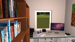 Raumgestaltung Guidos Raum in der Kategorie Arbeitszimmer