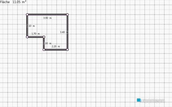 Raumgestaltung Haus Arbeitszimmer in der Kategorie Arbeitszimmer