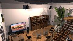 Raumgestaltung Haus in der Kategorie Arbeitszimmer