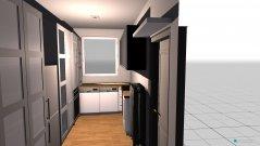 Raumgestaltung Hausarbeitsraum in der Kategorie Arbeitszimmer