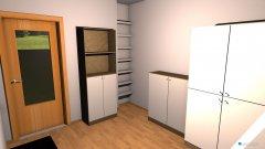 Raumgestaltung Haushaltszimmer in der Kategorie Arbeitszimmer