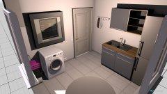 Raumgestaltung Hauswirtschaftsraum in der Kategorie Arbeitszimmer