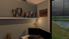 Raumgestaltung Havendreef werkkamer in der Kategorie Arbeitszimmer