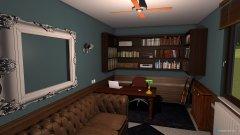 Raumgestaltung Herrenzimmer in der Kategorie Arbeitszimmer