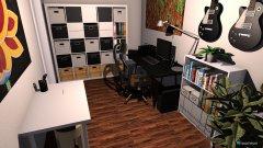Raumgestaltung HHP12b - AZ in der Kategorie Arbeitszimmer