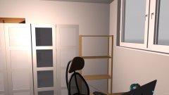 Raumgestaltung hinterzimmer in der Kategorie Arbeitszimmer