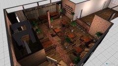 Raumgestaltung HopfX Biergarten in der Kategorie Arbeitszimmer