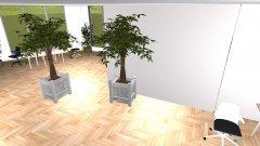 Raumgestaltung Innovativer Büroraum – ABKT0813 in der Kategorie Arbeitszimmer