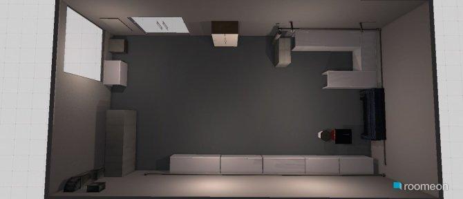 Raumgestaltung Ist Zustand in der Kategorie Arbeitszimmer