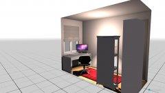 Raumgestaltung Izzy's office in der Kategorie Arbeitszimmer