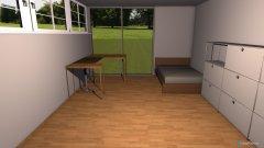 Raumgestaltung Jans Zimmer in der Kategorie Arbeitszimmer