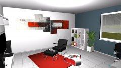 Raumgestaltung Jenny Raum in der Kategorie Arbeitszimmer