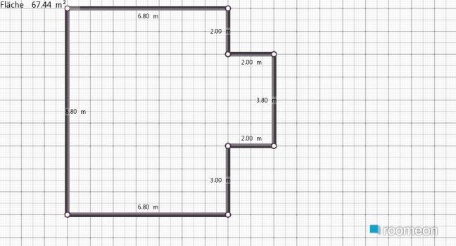 Raumgestaltung JogisBar in der Kategorie Arbeitszimmer