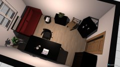 Raumgestaltung Johannas Zimmer 1 in der Kategorie Arbeitszimmer