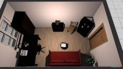 Raumgestaltung Johannas Zimmer 2 in der Kategorie Arbeitszimmer