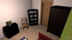 Raumgestaltung Johannas Zimmer 3 in der Kategorie Arbeitszimmer