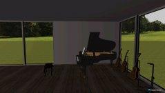Raumgestaltung joshuas musik zimmer in der Kategorie Arbeitszimmer