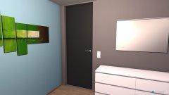 Raumgestaltung Jürgen Schlafzimmer in der Kategorie Arbeitszimmer