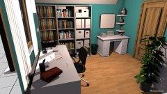 Raumgestaltung Juli Lernzimmer2 in der Kategorie Arbeitszimmer