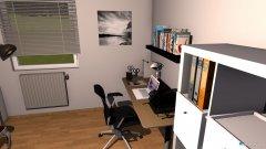 Raumgestaltung K. Zimmer in der Kategorie Arbeitszimmer