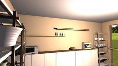 Raumgestaltung Kaffee bereich in der Kategorie Arbeitszimmer