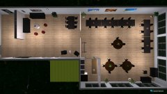 Raumgestaltung KantineKomplett in der Kategorie Arbeitszimmer