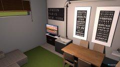 Raumgestaltung Keller 2.0 in der Kategorie Arbeitszimmer
