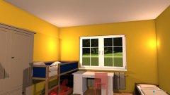 Raumgestaltung Kinderzimmer in der Kategorie Arbeitszimmer