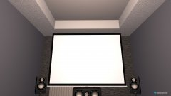 Raumgestaltung Kino in der Kategorie Arbeitszimmer