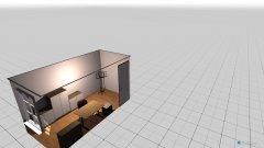 Raumgestaltung kl Zimmer in der Kategorie Arbeitszimmer