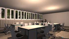 Raumgestaltung KlassenRaum beleuchtung in der Kategorie Arbeitszimmer